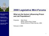 What are the Factors Influencing Prison and Jail Populations?