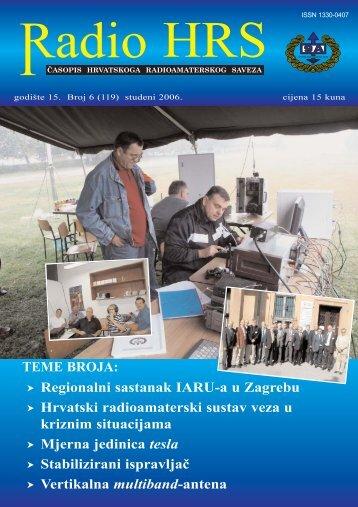 Radio HRS 6/06 - Hrvatski Radioamaterski Savez