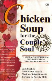 CHICKEN SOUP FOR THE COUPLE'S SOUL 71 Kisah yang ...