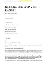 BALADA SIROY #5 - BLUE RANSEL