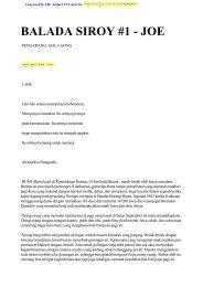 Balada Si Roy 1 ( JOE ) - Google Code