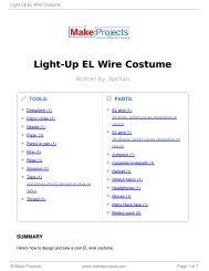 Light-Up EL Wire Costume