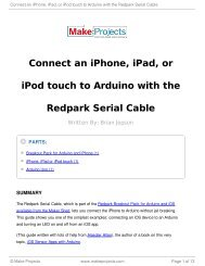 Connect an iPhone, iPad, or iPod touch to Arduino with the Redpark ...