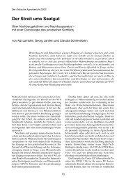 mit einer Chronologie des juristischen Konflikts - Projektbüro !make ...