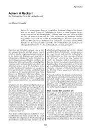 Ackern & Rackern - Projektbüro !make sense!