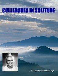 Colleagues in Solitude - Mandhata Global