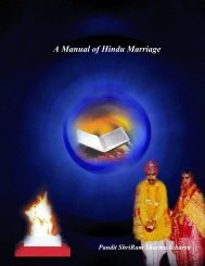 A Manual of Hindu Marriage - Mandhata Global