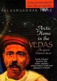 Artic Home of the Aryans by Lokamanya Bal ... - Mandhata Global