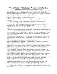 Vedic Culture / Hinduism: A Short Introduction - Mandhata Global