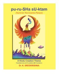 pu-ru-SHa sU-ktam (Hymn to The Cosmic Person) - Mandhata Global