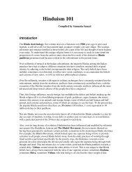 Hinduism 101 - Mandhata Global
