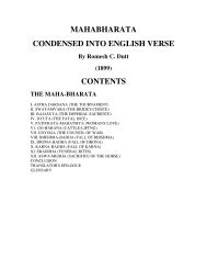 MAHABHARATA CONDENSED INTO ENGLISH ... - Mandhata Global