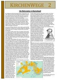 Die Reformation in Bischofszell - Evangelische Kirchgemeinde ...