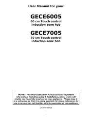 GECE6005 GECE7005 - Appliances Online