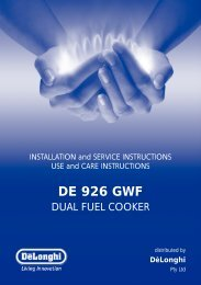DE 926 GWF - Appliances Online