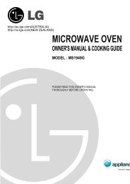 MICROWAVE OVEN - Appliances Online