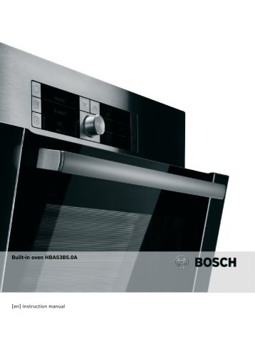 Built-in oven HBA53B5.0A - Appliances Online