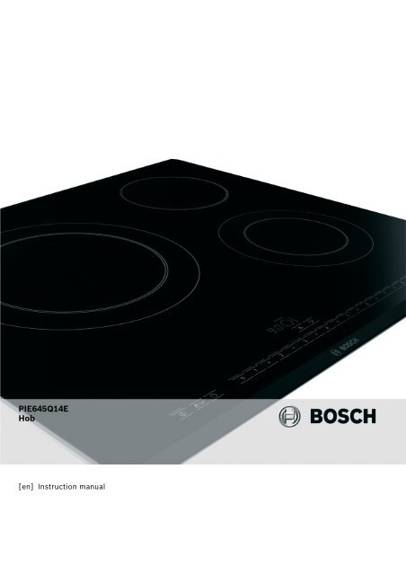 PIE645Q14E Hob - Appliances Online