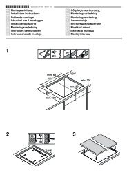 Ø Montageanleitung Ú Installation instructions Þ Notice de montage ...