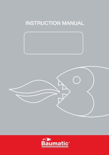 INSTRUCTION MANUAL - Appliances Online