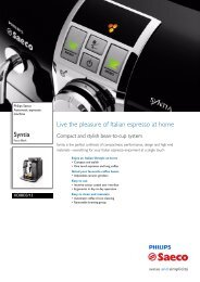 HD8833/13 Philips Automatic espresso machine - Appliances Online