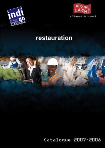 restauration - Publi-shirt