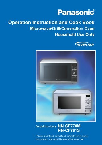 Operation Instruction and Cook Book - Appliances Online