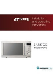SA987CX - Appliances Online