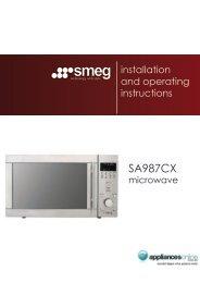 SA987CX - Appliances Online