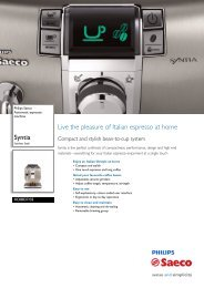 HD8837/03 Philips Automatic espresso machine - Appliances Online