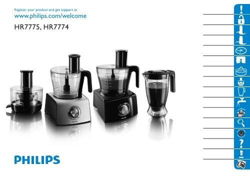HR7775, HR7774 - Philips