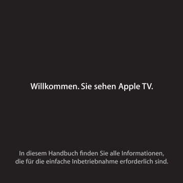 Apple TV - Support - Apple