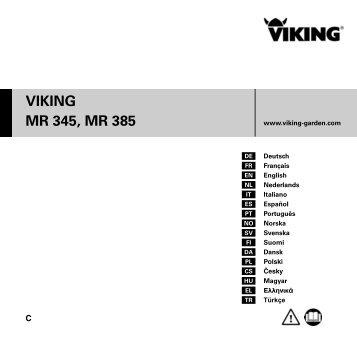 VIKING MR 345, MR 385