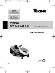 VIKING MT 545, MT 585
