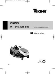 VIKING MT 545, MT 585