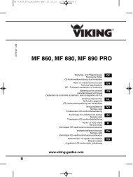 MF 860, MF 880, MF 890 PRO