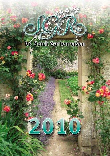 Brücken und Gärten - Garten England