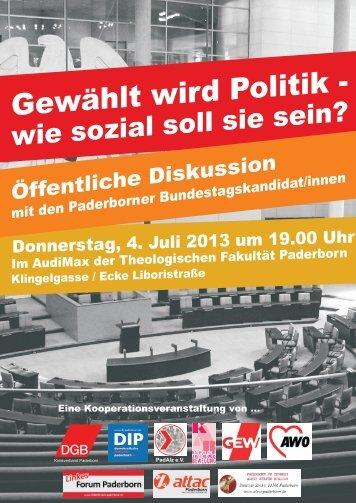 Download Einladung - Demokratische Initiative Paderborn
