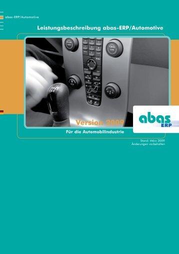 4.2. EDL-/LLZ-Abwicklung/ Konsignationslager - ABAS Software AG