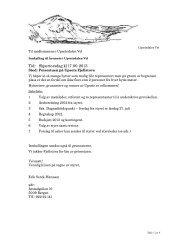 Tid: Skjærtorsdag kl 17.00 2013 - Viken Fiber