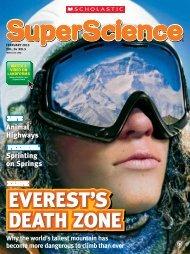 Mount Everest's Death Zone - Mara Grunbaum