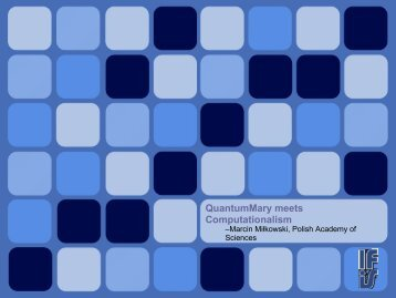 QuantumMary meets Computationalism - Miłkowski, Marcin