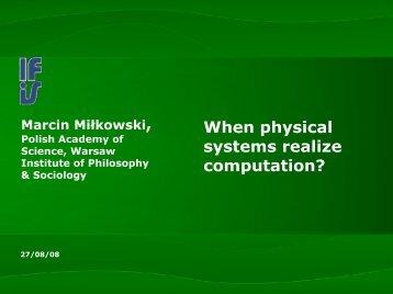Computational Explanations - Miłkowski, Marcin