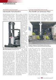 Individueller Fahrerkomfort 'The Forklift' am Schwarzen Meer