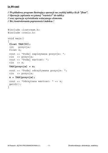 PDF 128KB - Marek Piasecki