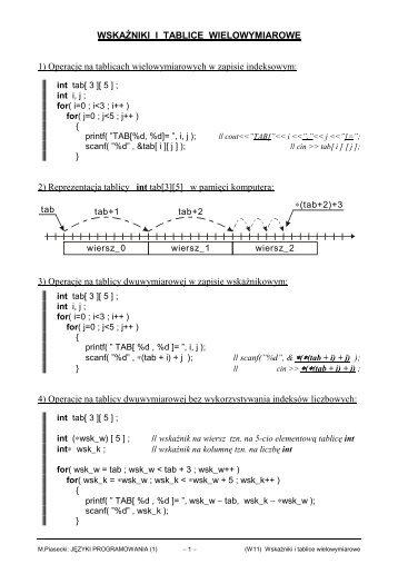 PDF 84KB - Marek Piasecki