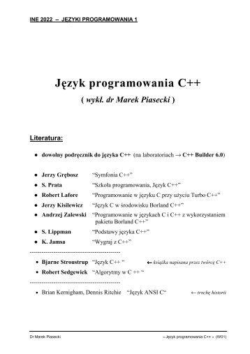 PDF 395KB - Marek Piasecki
