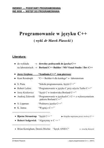 PDF 154KB - Marek Piasecki