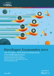 Developer Economics 2011 - Marek Piasecki