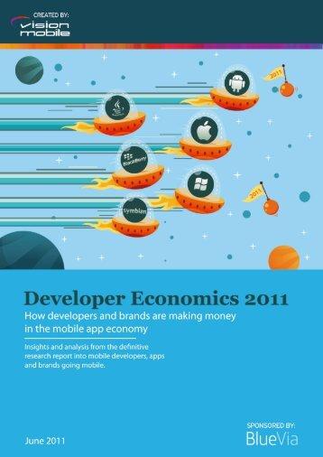 Developer Economics 2011 - Marek Piasecki
